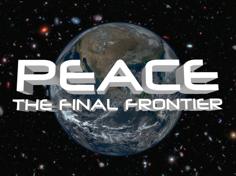 Peace final frontier